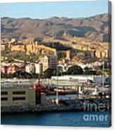 The Castle In Almeria Spain Canvas Print