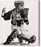 The Catcher Canvas Print