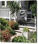 The Cheerful Porch Canvas Print