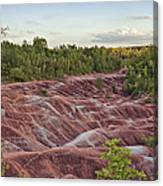 The Cheltenham Badlands Canvas Print