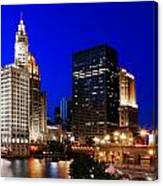 The Chicago River Canvas Print
