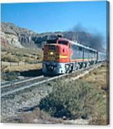 The Chief Train Canvas Print