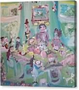 The Christmas Dinner Canvas Print