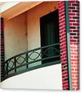 The Church Balcony Canvas Print