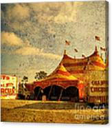 The Circus Is In Town Canvas Print