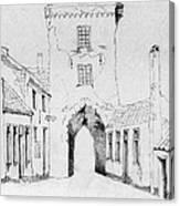 The City Gate Canvas Print