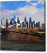 The City Of Brotherly Love Canvas Print