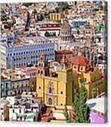 The City Of Guanajuato Canvas Print