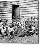 The Civil War, African American Canvas Print