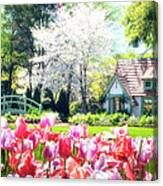 The Claude Monet Small House Canvas Print