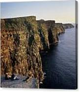 The Cliffs Of Moher, County Clare Canvas Print