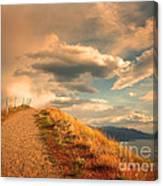 The Cloud Path Canvas Print