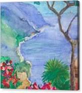 The Coast Of Italy Canvas Print