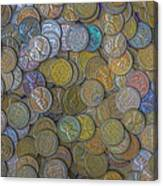 The Color Of Copper Money Canvas Print