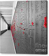 The Color Of Remembrance Canvas Print