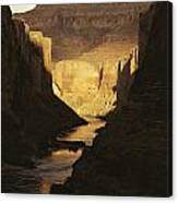 The Colorado River Flows Canvas Print
