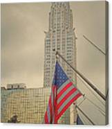 The Colors Flying In New York Canvas Print