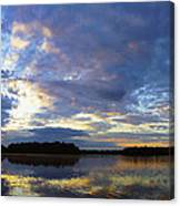 The Colors Of Morning  Canvas Print