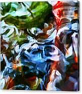 The Coloured Eddies Canvas Print