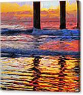 The Colours Of Dawn  Canvas Print