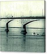 The Confederation Bridge Pei Canvas Print