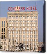 The Congress Hotel - 1 Canvas Print