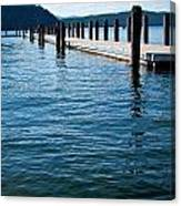 The Coolin Dock Canvas Print