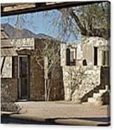 The Courtyard Canvas Print