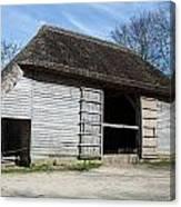 The Cowfold Barn Canvas Print