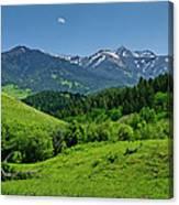 The Crazy Mountains Canvas Print