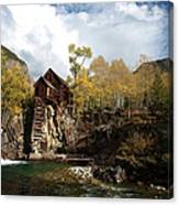 The Crystal Mill Canvas Print