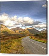 The Cuillin Mountains Of Skye Canvas Print
