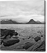 The Cuillin's In The Mist Canvas Print