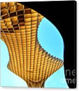 The Curves Of The Metropol Parasol Canvas Print