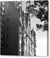 The Dakota In Black And White Canvas Print