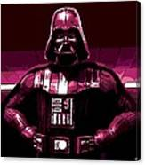 the Dark Side is Strong Canvas Print