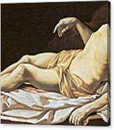 The Dead Christ Canvas Print