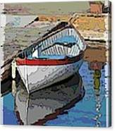 The Dinghy Canvas Print