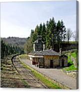 The Disused Alton Towers Railway Station Canvas Print