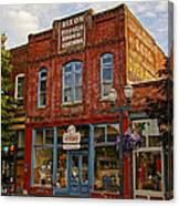 The Dixon Building In Grants Pass Canvas Print