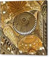 The Dome Of Hagia Sophia Canvas Print