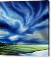 The Dragon Storm Canvas Print