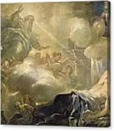 The Dream Of Solomon Canvas Print