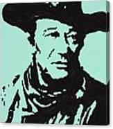 The Duke In Color Canvas Print