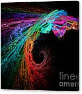 The Eagle Rainbow Canvas Print