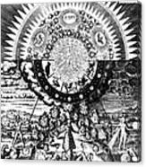 The Emerald Tablet, 1618 Canvas Print