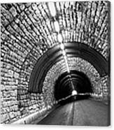 The End Of The Tunnel Canvas Print