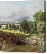 The Entrance To Fen Lane By Constable John Canvas Print
