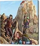 The Explorers Color Canvas Print