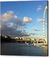 The Eye Over Thames Canvas Print